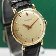 JAEGER LECOULTRE 18K SOLID YELLOW GOLD MANUAL WIND MEN'S WATCH