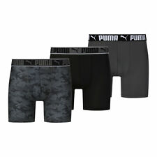 PUMA Men's Sportstyle Boxer Briefs [3 Pack]