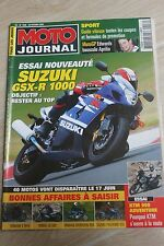 MOTO JOURNAL 1556 SUZUKI GSX-R 1000 KTM 950 Adventure Colin Edwards 2003