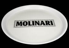 Molinari Sambuca, Serviertablett, Rundtablett, (Rutschfest) weiße Ausführung