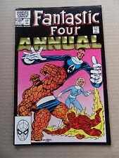 Fantastic Four Annual 17 . J. Byrne / Skrulls App . Marvel 1983 - VF - minus