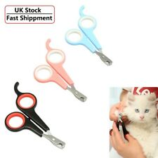 More details for small pet dog nail clippers cutter professional ergonomic lightweight for cats