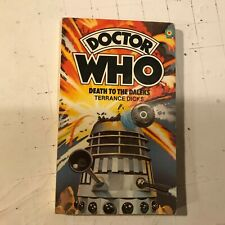Death To The Daleks Doctor Who Target #20 1984 sci-fi paperback terrance dicks !