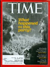 2016 Time Magazine: What Happened to The Reagan Party?/Power of Nancy Reagan