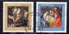 Echte gestempelte Briefmarken aus Belgien