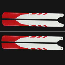 4Pcs 325mm Glass Fiber Main Rotor Blade for Trex 450 Helicopter