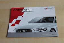 140818) Audi Q3 A4 A5 A6 A7 - S Line Selection - Prospekt 04/2013