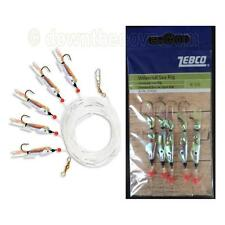 Zebco Universal Sea Rig - Paternoster with 5 Lures Hook Size 1 - 1st Class Post!