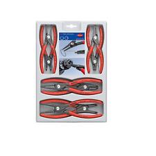 KNIPEX 00 20 04 SB Precision Circlip Snap-Ring Pliers Set, 8 Piece