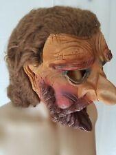 Rare Vintage Topstone Halloween Mask Dwarf Troll Monster 80s 1980s Latex