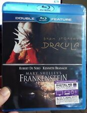 Bram Stoker's Dracula/Mary Shelley's Frankenstein (Blu-ray)Double Feature-NEW