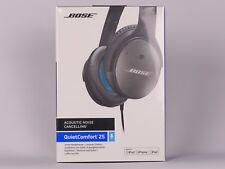 BOSE QuietComfort QC 25 Over Ear Kopfhörer geschlossen für Apple schwarz/blau
