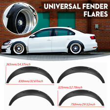4x 3.5'' Universal Anti-Scratch Front Rear Fender Flares Wide Body Wheel Arches