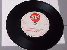 """Manfred Mann & Mike Hug:  Ski """"full of fitness"""" Theme  1971   7""""   EX"""