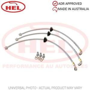 HEL Performance Braided Brake Lines - Citroen 2CV6