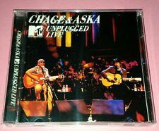 CHAGE & ASKA 恰克与飞鸟: UNPLUGGED LIVE (1996/JAPAN)   CD