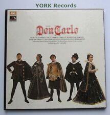SLS 956 - VERDI - Don Carlo DOMINGO / CABALLE / GIULINI - Ex 4 LP Record Box Set