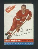 1954-55 Topps #57 Bill Dineen VG/VGEX Red Wings 108213