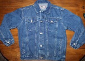Old Navy    Blue  Denim   Jjacket   Kids    size 10