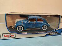 Maisto 1:18 Scale 1955 VW Volkswagen Kafer Beetle