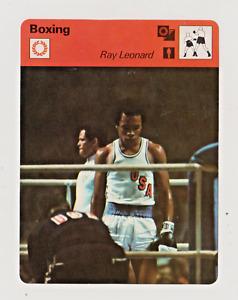 1977-79 Sportscaster Olympics Boxing Sugar Ray Leonard