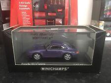 Minichamps Porsche 911 Carrera 1993 Metallic Purple 1/43 MIB Ltd Ed