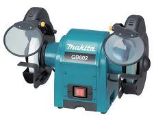 Makita GB602 Blau/Schwarz Doppelschleifbock Schleifmaschine