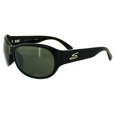 Serengeti Sunglasses Giada 7502 Shiny Black Green 555nm Polarized