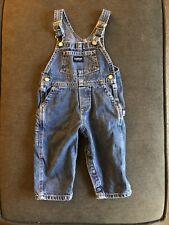 Oshkosh Blue Jean Denim Overalls 18 Months Vintage