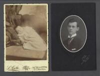 Lot of 7 Original Antique Montreal Ludger Cote Cabinet Photos