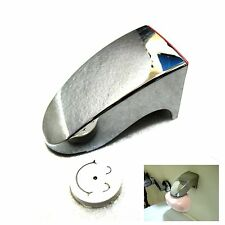 New Magnetic Soap Holder 3M Adhesion Wall Soap Dish Sink/Bathroom Silver