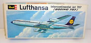 Revell H-243 Intercontinental Jet Lufthansa BOEING 707 Maßstab 1:144 OVP RS2970