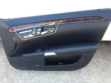 Mercedes S550 Door Trim Panel Front PASSENGER SIDE Black(2007-2013)