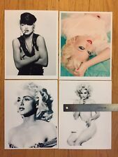 MADONNA Lot of 8x11 photos Prints 90's sex book Justify my Love Bedtime Stories