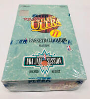 1992-93 Fleer Ultra Series 2 Basketball Box Shaquille O'neal Rookie
