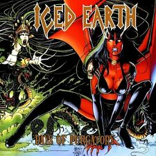 Iced Earth - Days Of Purgatory Vinyl LP Heavy Metal Sticker or Magnet