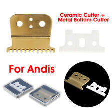2pcs Ceramic Cutter Blade T-outliner Replace Blade For Electric Sh htBI BF