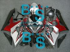 Silver Red GSX-R1000 Fairing Bodywork Kit Fit Suzuki GSXR1000 2005-2006 27 B2