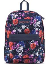 JanSport T501 SuperBreak Backpacks Morning Bloom Brand New With Tags