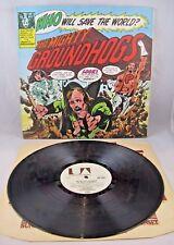 "GROUNDHOGS - ""WHO WILL SAVE THE WORLD?"" - 1972 UK 1st PRESS A1U/B1U GIMMIX - NM"