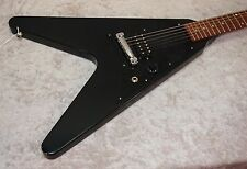 2011 Gibson Melody Maker V electric guitar in black finish