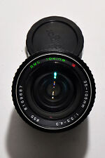 Tokina RMC 35-105mm F3.5-4.3 Lens w Macro  for Konica K/AR Mount with caps  8