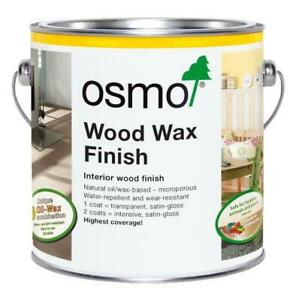 Osmo Wood Wax Finish Interior Wood Protection Multiple size cans and finishes