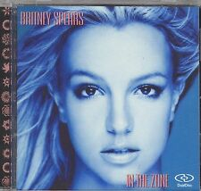 BRITNEY SPEARS In The Zone DualDisc CD DVD-AUDIO 5.1 SURROUND SOUND + 3 VIDEOS