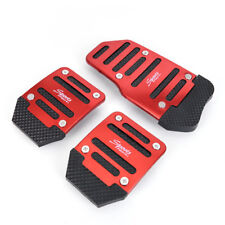 3PCS Car Auto Vehicle Non-slip Pedal Aluminium Alloy Foot Treadle Cover Pad La