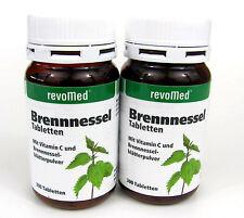600 ( 2 x 300 ) Brennessel-Tabletten 200 mg revoMed Brennesseltabletten