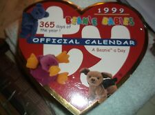 1999 Vintage Ty Official Beanie Babies Daily Desk Calendar