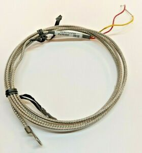 "Watlow K Type Thermocouple Part Number 70XKSGC048A Ring Terminal Mount 48"" Lead"