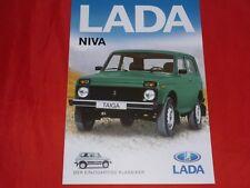 LADA Niva Prospektblatt von 2005