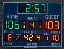 Daktronics ColorSmart BB-3103 LED Basketball Scoreboard with All Sport 5500